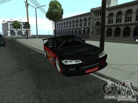 Nissan S15 vDragon para GTA San Andreas vista direita