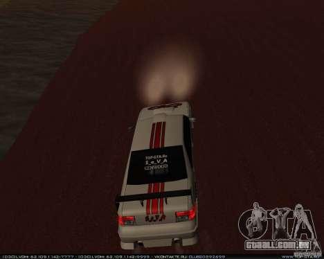 Novos vinis no Sultan para GTA San Andreas vista interior