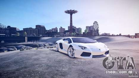 Lamborghini Aventador LP700-4 v1.0 para GTA 4 esquerda vista