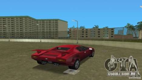 Infernus BETA para GTA Vice City deixou vista