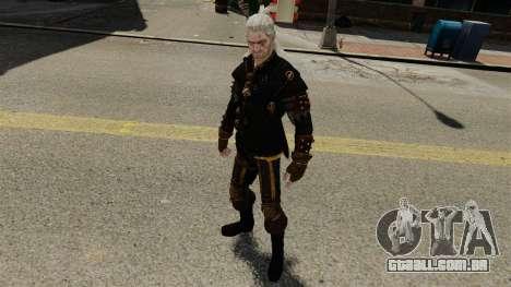Geralt de Rivia v3 para GTA 4 quinto tela