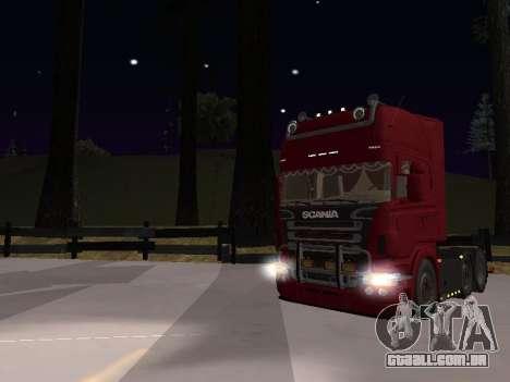 Scania 460 para vista lateral GTA San Andreas