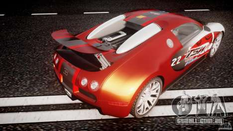 Bugatti Veyron 16.4 v1 para GTA 4 interior