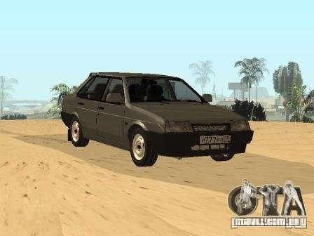 VAZ verão 21099 para GTA San Andreas