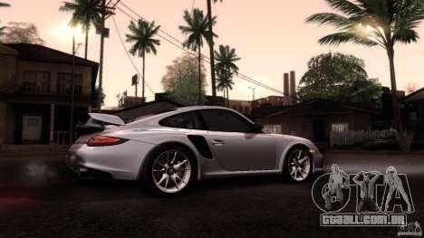 Porsche 911 GT2 RS 2012 para GTA San Andreas vista interior