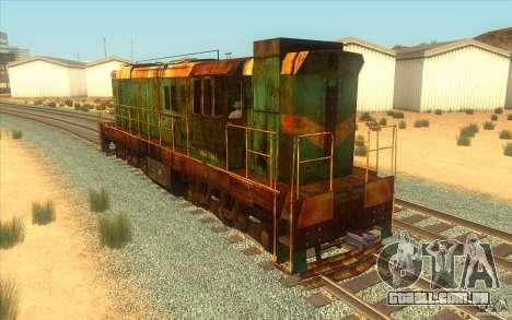 Chme3-5792 v2 para GTA San Andreas traseira esquerda vista
