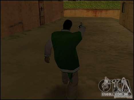 Arma na mão para GTA San Andreas terceira tela