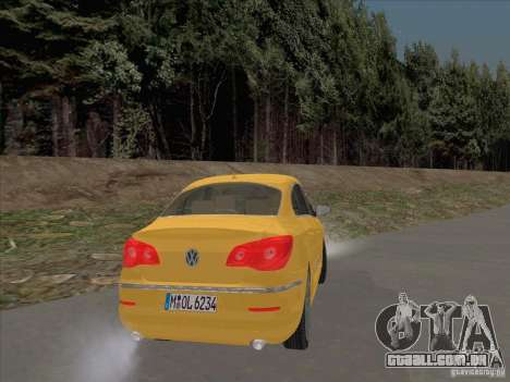 Volkswagen Passat CC para GTA San Andreas vista direita