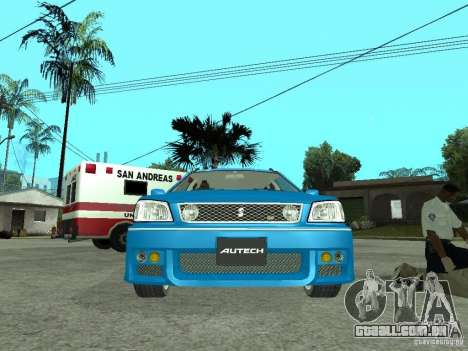 Nissan Stagea 25RS four S para GTA San Andreas vista direita