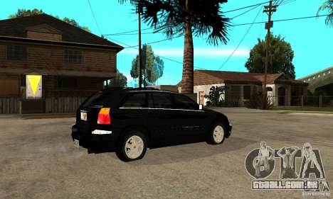 Chrysler Pacifica para GTA San Andreas vista direita