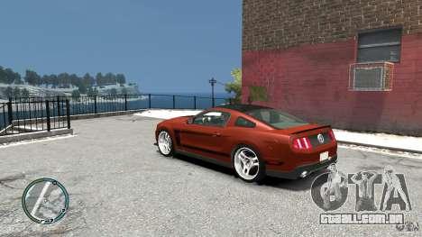 Ford Mustang Boss 302 2012 para GTA 4 traseira esquerda vista