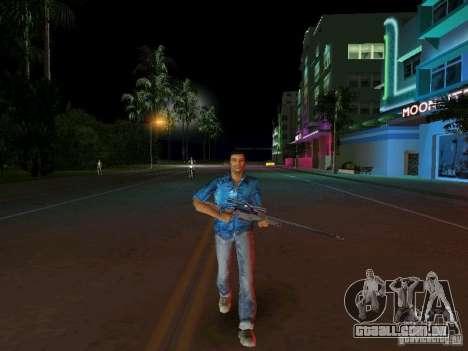 Modelo de Tommy Vercetti BETA para GTA Vice City por diante tela