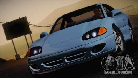 Dodge Stealth RT Twin Turbo 1994 para GTA San Andreas vista superior