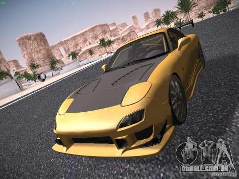 Mazda RX-7 FD3S C-West Custom para GTA San Andreas