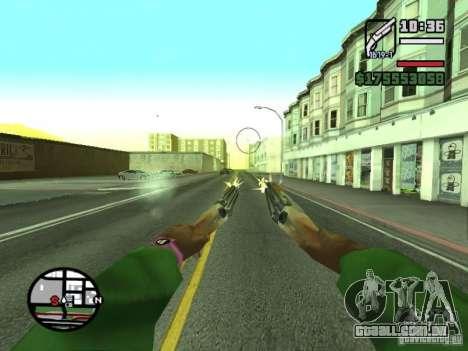 Primeira pessoa (primeira pessoa mod) para GTA San Andreas twelth tela