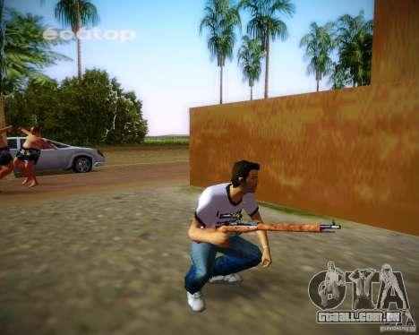Mosin-Nagant para GTA Vice City sétima tela