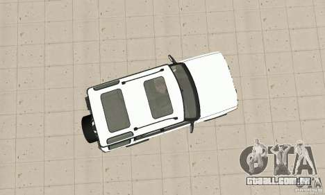 Land Rover Discovery 2 para GTA San Andreas vista direita