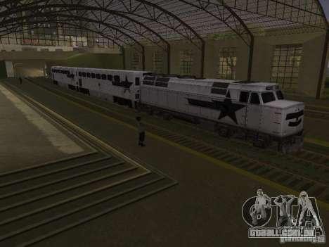 Espaço animado v 1.0 para GTA San Andreas oitavo tela