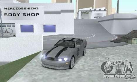 Saleen S281 Pack 1 para GTA San Andreas traseira esquerda vista