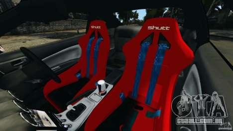 Nissan Silvia S15 JDM para GTA 4 vista interior