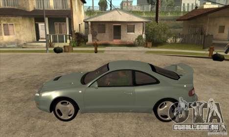 Toyota Celica GT-Four para GTA San Andreas esquerda vista