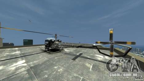 Sparrow Hilator para GTA 4 traseira esquerda vista