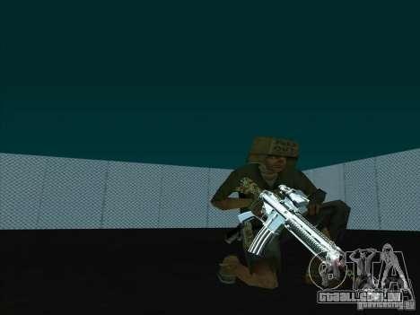 New Weapons Pack para GTA San Andreas terceira tela