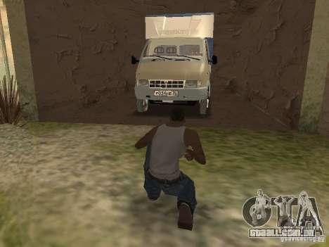 GAZ 3302 em 2001. para GTA San Andreas vista superior