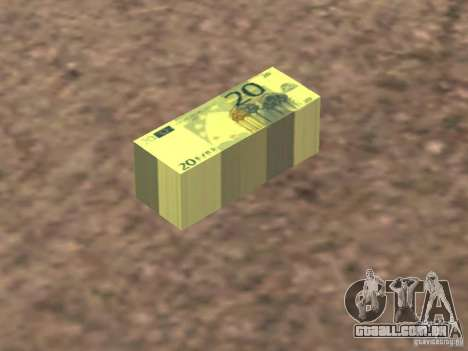 Euro money mod v 1.5 20 euros II para GTA San Andreas