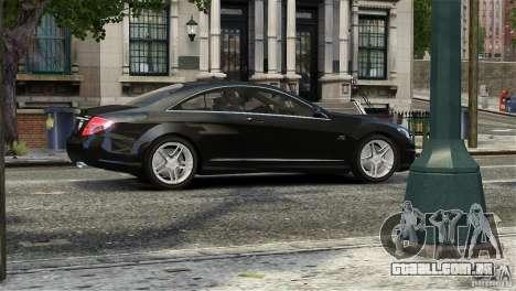 Mercedes-Benz CL65 AMG v1.5 para GTA 4 vista lateral