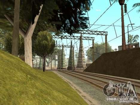 Entrar em contato com a rede 2 para GTA San Andreas por diante tela
