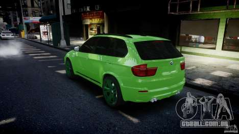 BMW X5 M-Power wheels V-spoke para GTA 4 motor