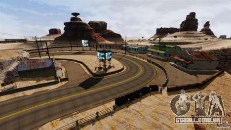 Ambush Canyon para GTA 4 terceira tela