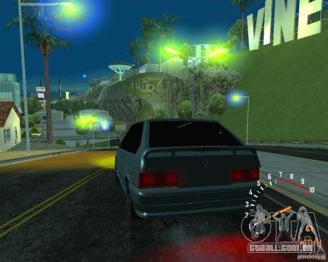 VAZ 2113 Ferarri para GTA San Andreas interior