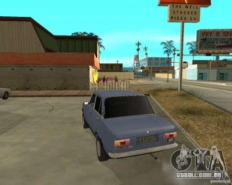 Kopeyka (corrigido) para GTA San Andreas traseira esquerda vista