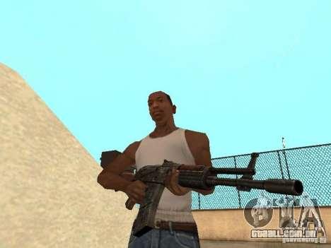 Ak-47 para GTA San Andreas terceira tela