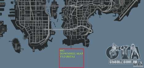 MG Downhill Map V1.0 [Beta] para GTA 4 oitavo tela
