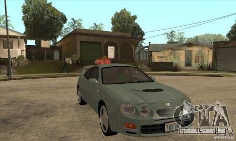 Toyota Celica GT-Four para GTA San Andreas vista traseira