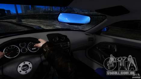 Mitsubishi FTO para GTA 4 vista de volta