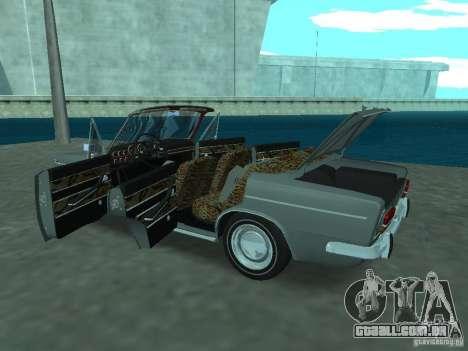VAZ 2103 Cabrio para GTA San Andreas vista interior