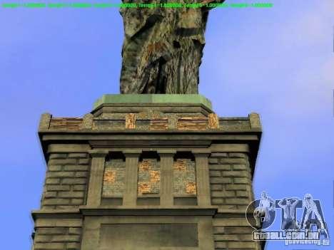 Estátua da liberdade 2013 para GTA San Andreas nono tela
