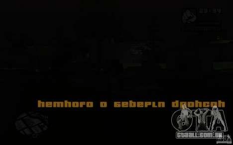 A missão da mãe de CJ para GTA San Andreas terceira tela