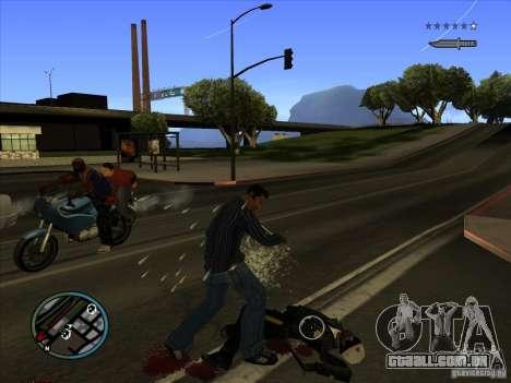 GTA IV TARGET SYSTEM 3.2 para GTA San Andreas sexta tela