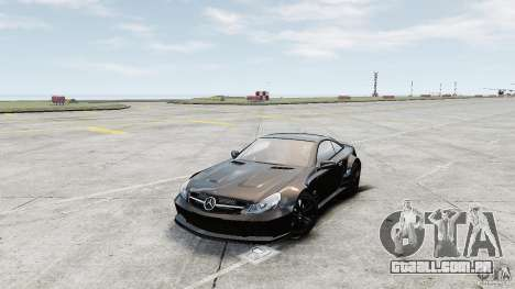 Mercedes-Benz SL65 AMG Black Series 2009 [EPM] para GTA 4