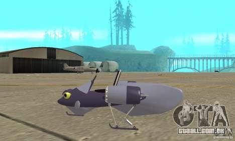 Flying Fish para GTA San Andreas esquerda vista