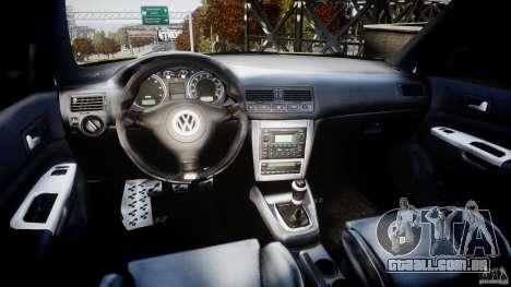 Volkswagen Golf IV R32 para GTA 4 vista direita