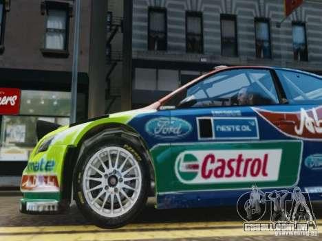 Ford Focus RS WRC para GTA 4 vista lateral