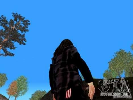 Skrillex para GTA San Andreas por diante tela