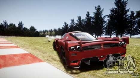 Ferrari FXX para GTA 4 traseira esquerda vista