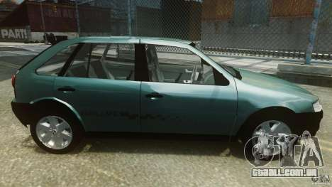 Volkswagen Gol G4 Rallye para GTA 4 esquerda vista